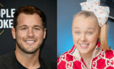 Colton Underwood and JoJo Siwa