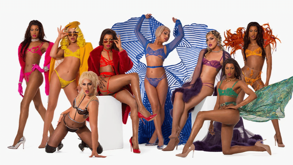 Drag Race UK stars Tayce and A'Whora star in Pride lingerie campaign