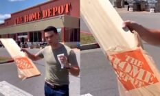 Ben Shapiro at Home Depot.