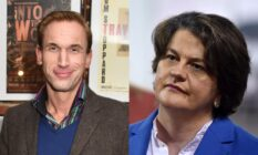 Christian Jessen and Arlene Foster