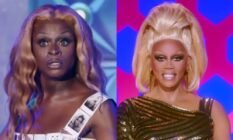 Symone and RuPaul