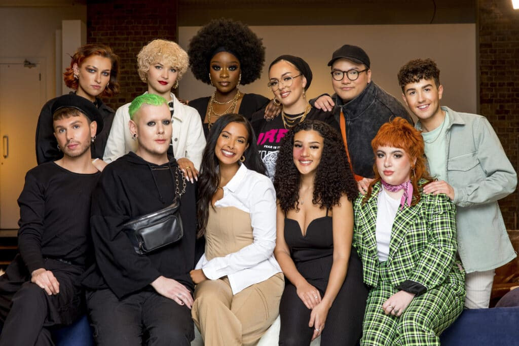 The cast of Glow Up season 3