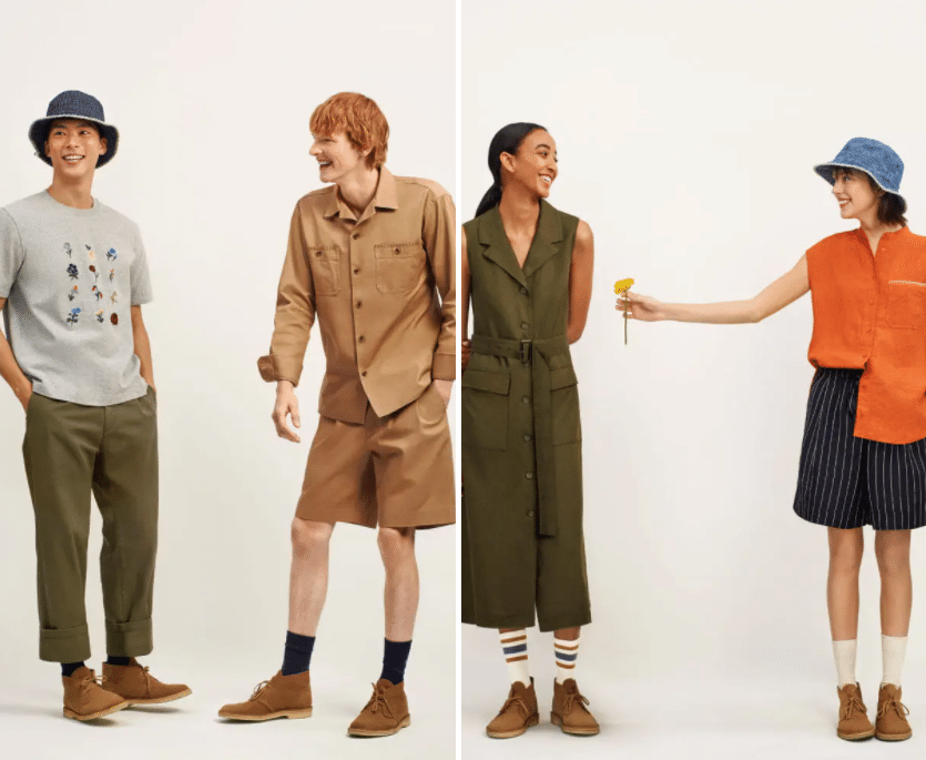 The pieces in the collection start from as little as £3.90. (Uniqlo)