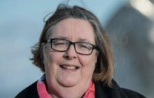 Alba Party Central Scotland candidate Margaret Lynch