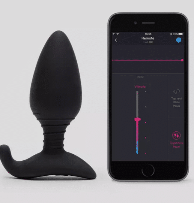 This butt plug can be connected to the Lovense app for long-distance play. (Lovehoney)
