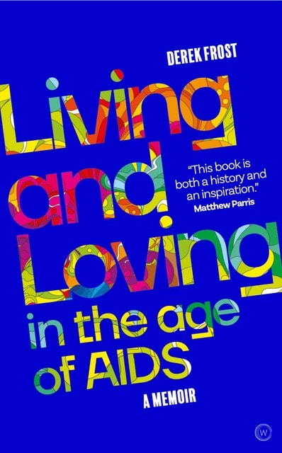 The cover of Living and Loving in the Age of AIDS.