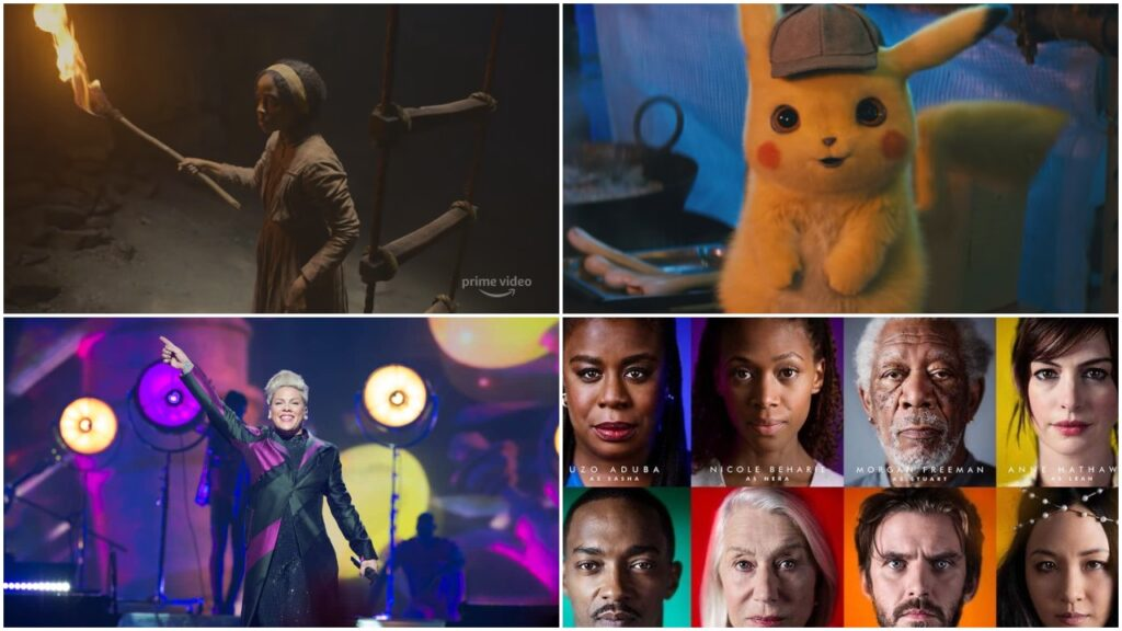 The Underground Railroad, Pokémon Detective Pikachu, P!NK documentary and series Solos are all heading to Amazon Prime Video this May.