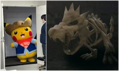 Fossil Pokemon museum japan pikachu explorer