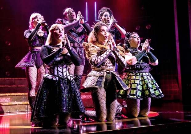 SIX the Musical is returning to Lyric Theatre in May 2021. (© Pamela Raith)