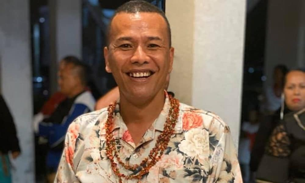 Polikalepo Kefu, president of the LGBT+ rights organisation Tonga Leitis Association.