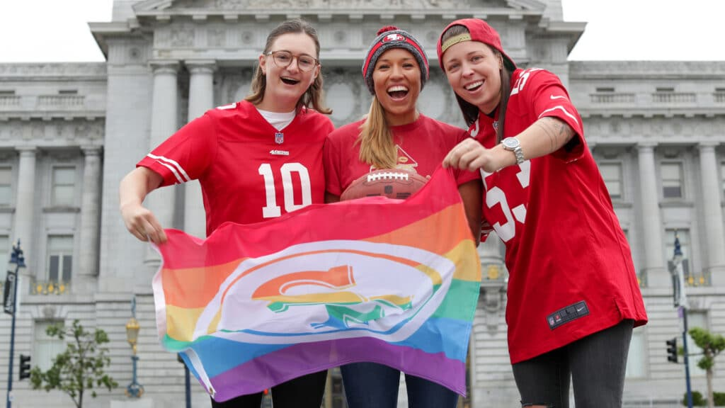 The 49ers are the first NFL team with a gender neutral clothing line.