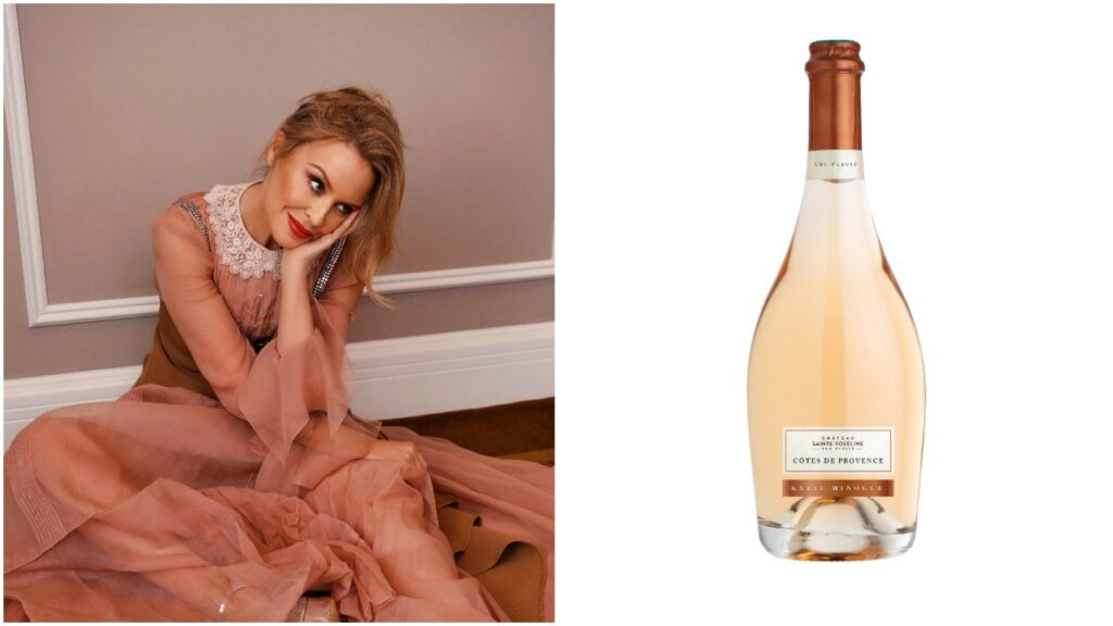 Kylie Minogue is releasing a new wine to celebrate her birthday and the first anniversary of Kylie Wines. (Darenote Ltd)