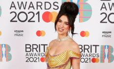 Dua Lipa BRIT awards