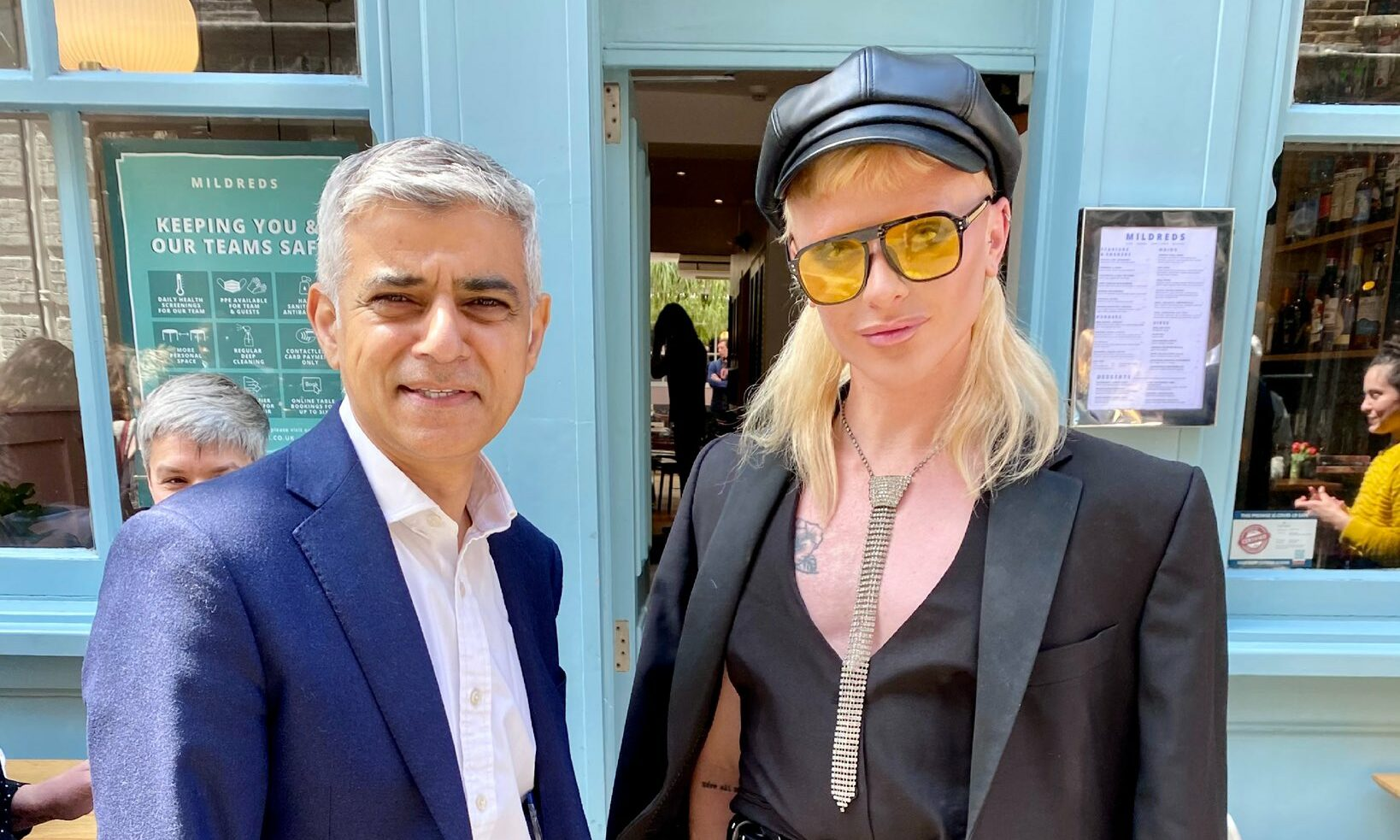 Bimini Bon Boulash and Sadiq Khan went for brunch and the gays are obsessed