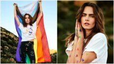 Cara Delevigne and Puma team up for the 'Forever Free' 2021 Pride collection. (Puma)