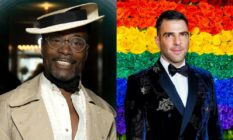 Billy Porter Zachary Quinto