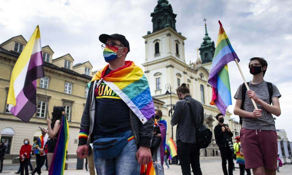 LGBT activists in poland