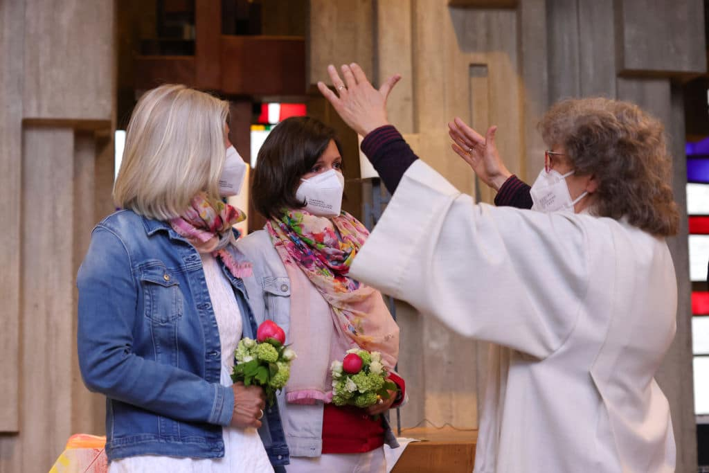 Catholic Churches Bless Same-Sex Couples In Nationwide Event