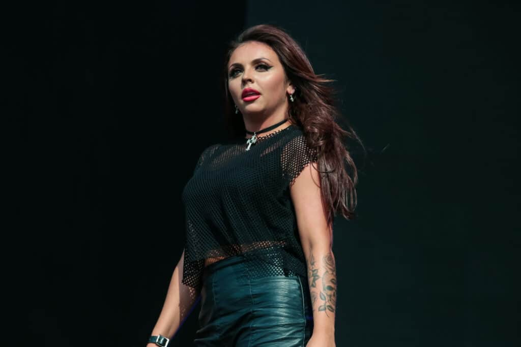 Jesy Nelson of Little Mix performs on stage at British Summer Time Festival