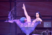 Dita Von Teese is touring across the UK with her Glamonatrix tour.