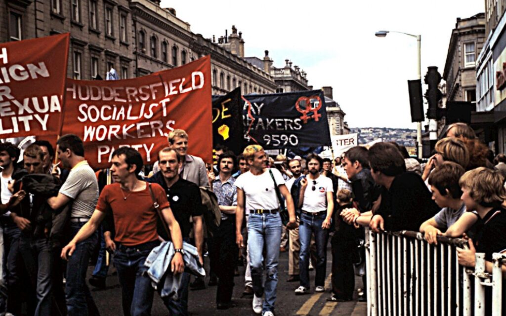 The day activists clashed with National Front over UK gay bar The Gemini