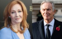 JK Rowling Tony Blair