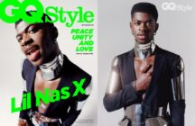 Lil Nas X side by side cover GQ Style
