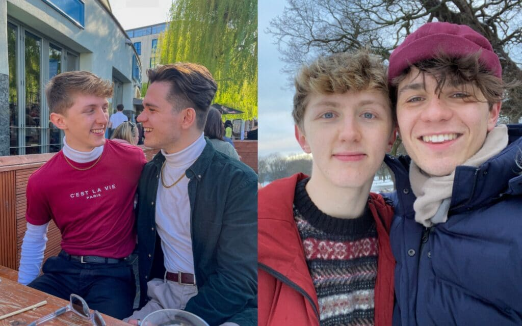 Gay couple spat at and called 'dirty homos' for holding hands in public