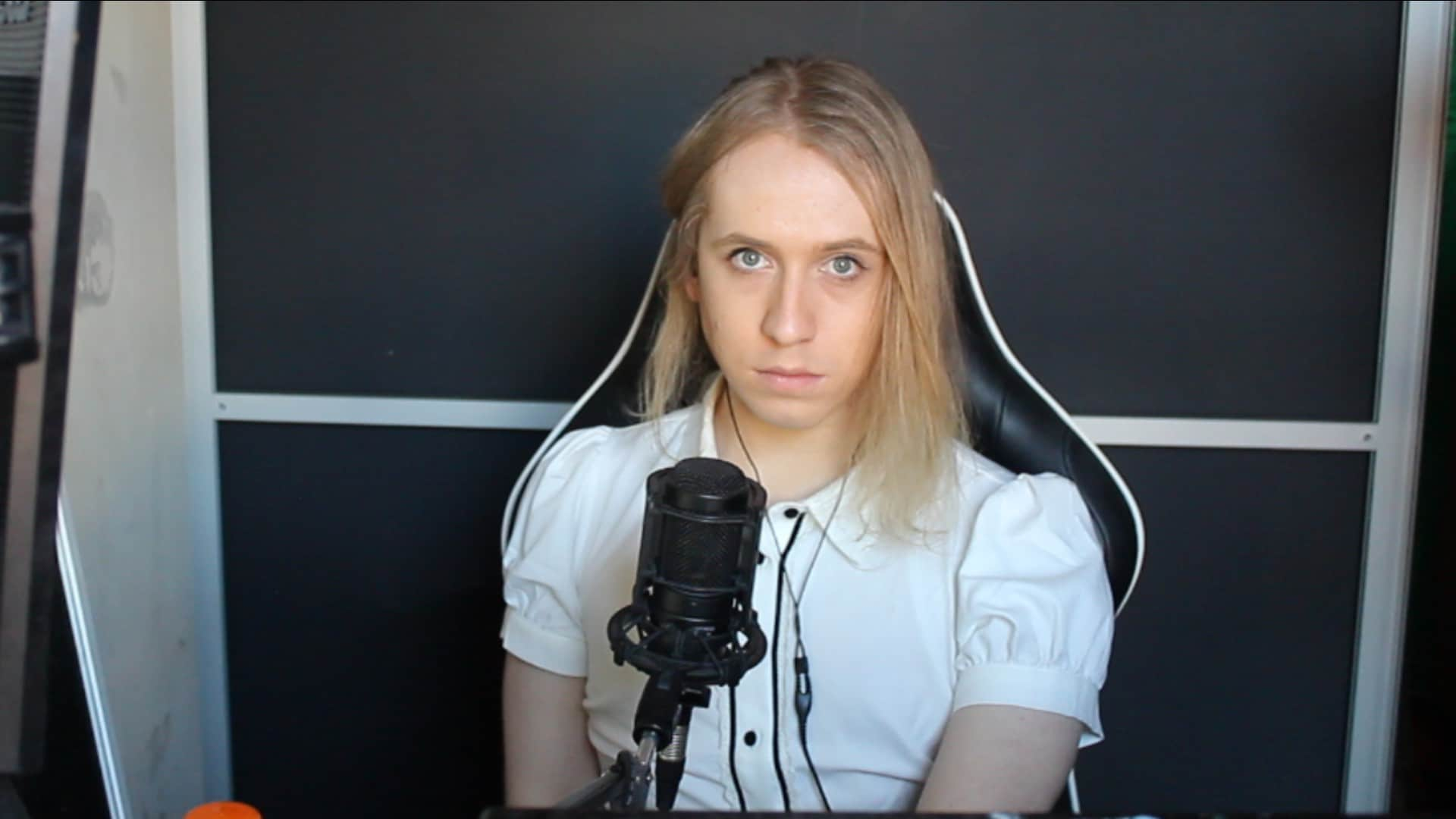 Trans esports commentator posts defiant video message after livestream 'toxicity'