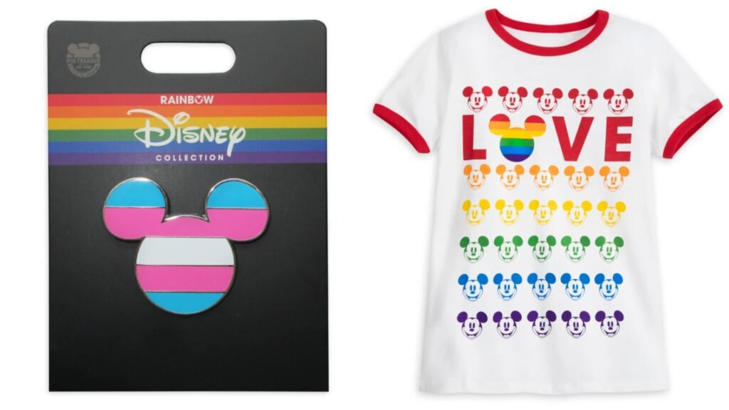 Disney's Pride collection features the inclusive, trans, bi and lesbian flags for the first time. (Disney)