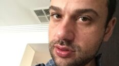 Phillip Papaefthymiou, who allegedly murdered his boyfriend in a carpark in a Sydney suburb.