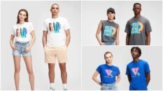 Gap's Pride collection features t-shirts created by LGBT+ artists. (Gap)
