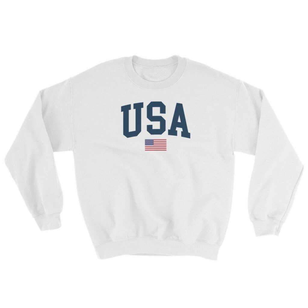 The USA jumper inspired by Princess Diana's iconic look. (Etsy)