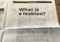The LGB Alliance has a new full-page advert about 'what makes a lesbian'