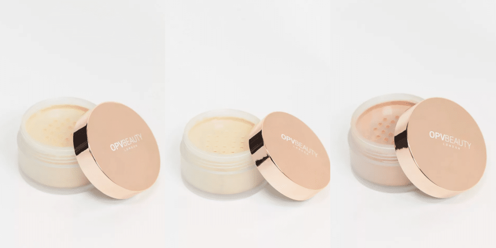 The setting powder is available in translucent, medium and deep. (ASOS)
