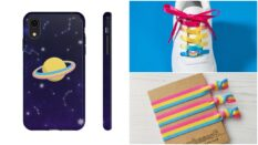 You can get some awesome gifts featuring the pansexual flag colours.