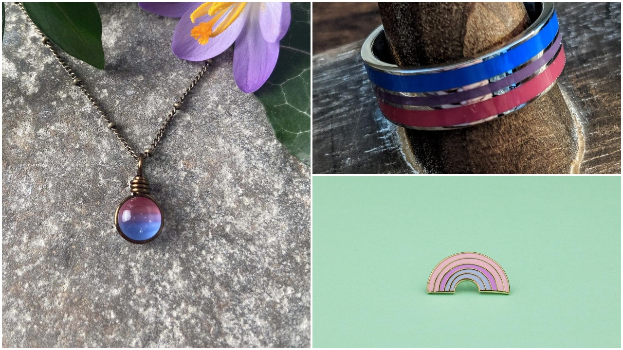 12 amazing gifts for your favourite bisexual, including fantastic jewellery