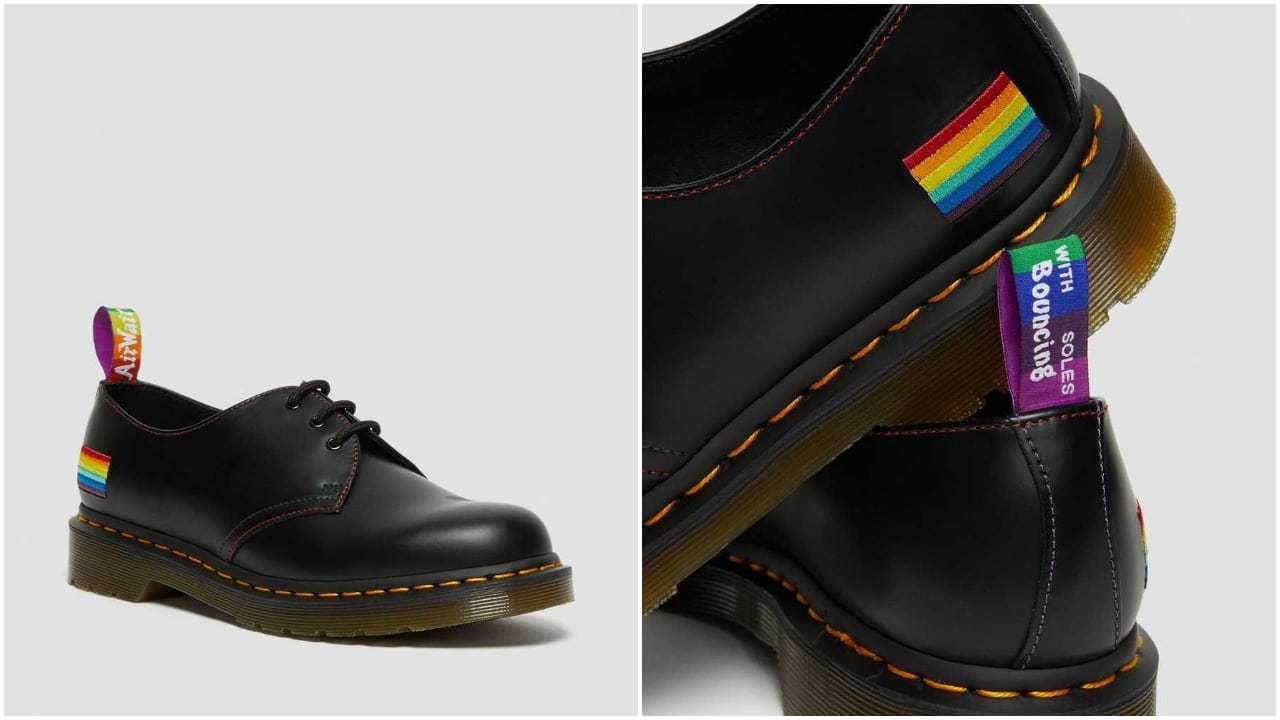 Dr Martens launches subtly rainbow-hued Pride shoes in support of Albert Kennedy Trust