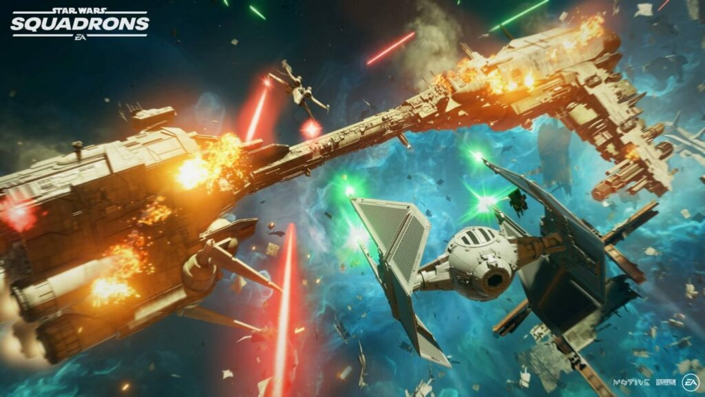 PS Plus Star Wars Squadrons