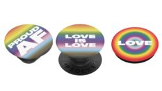 Henry Holland has teamed up with PopSockets to create three exclusive designs for Pride. (PopSockets)
