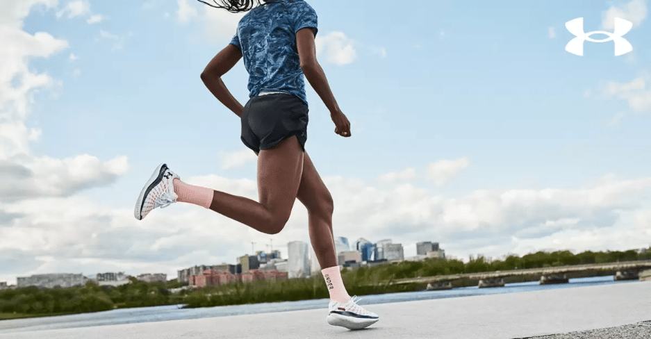 The new running shoes give runners a close-to-the-ground feeling. (Under Armour)