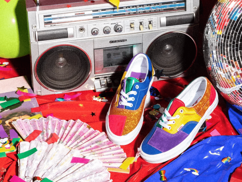 Trainers from the Vans Pride collection. (Vans)