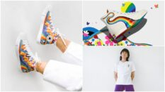 The Converse Pride collection features All-Star, 70 and Run-Star high tops. (Converse)