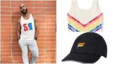 The Fabletics Pride capsule collection features t-shirts, tank tops, joggers and accessories. (Fabletics)