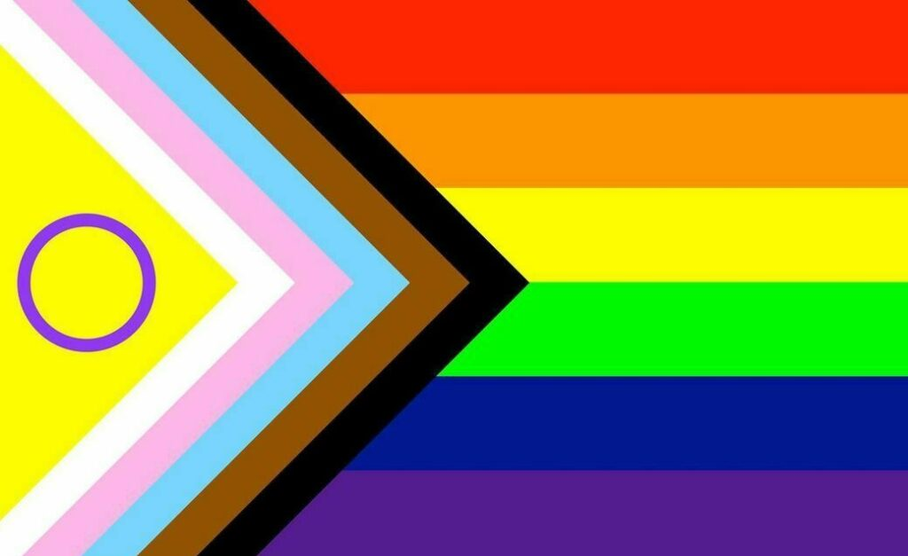 Progress Pride flag updated for Pride season to include intersex people