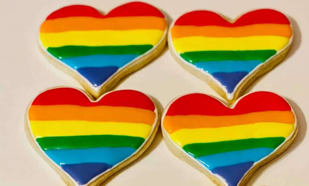 Bakery showered with love after being hit with backlash over Pride cookies