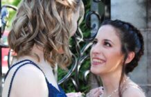 same-sex prom queens Carly Levy and Courtney Steine