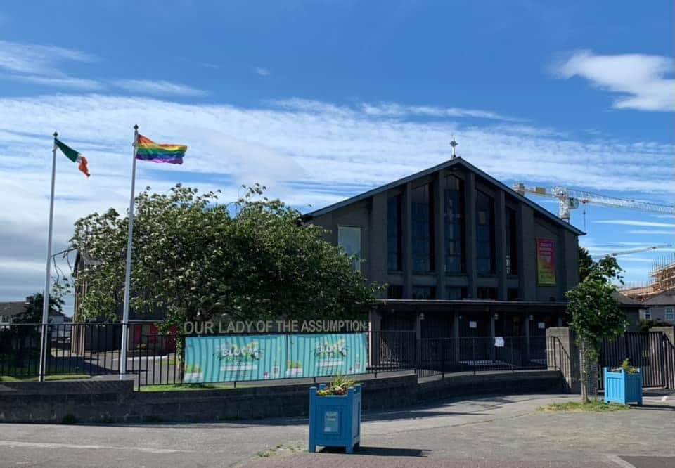 Church forced to take down Pride flag by Catholic leaders