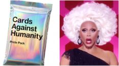 The Cards Against Humanity Pride pack features references to Drag Race, queer icons, sex and more.