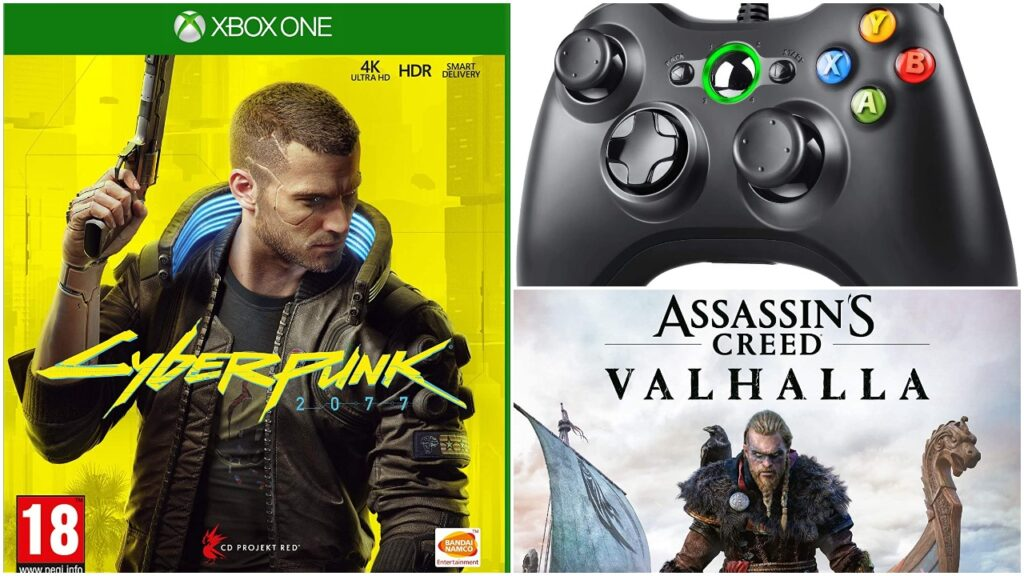 Xbox games and accessories